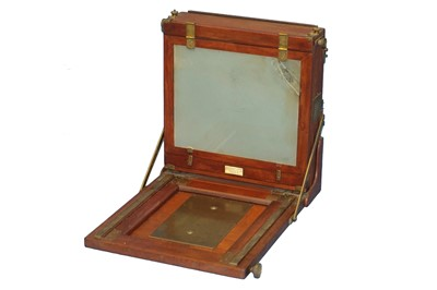Lot 2 - A 12 x 10 Marion & Co Tailboard Camera & 2 DDS.