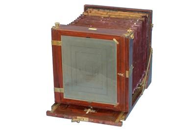 Lot 3 - 12 x 10 Hare & Co Tailboard Camera.