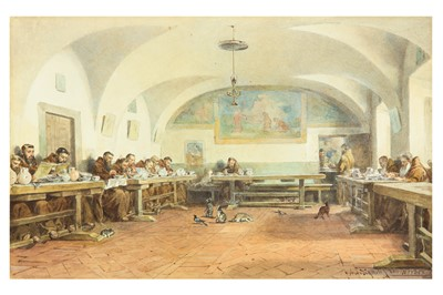 Lot 370 - ANTONIO BIGNOLI (ITALIAN 1812-1886) after JACQUES ALFRED VAN MUYDEN (SWISS 1818-1898)