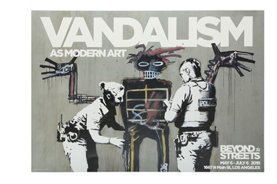 Lot 319 - BANKSY (BRITISH B. 1974)