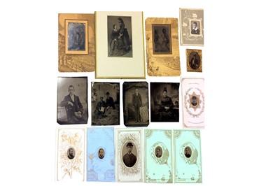 Lot 4 - Tintypes, Portraits, c.1860s-1870s