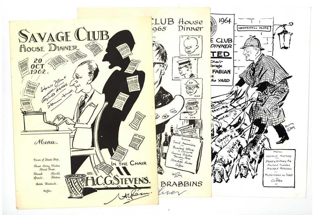 Lot 1430 - Autograph Collection.-Miscellaneous 1920s-1940s