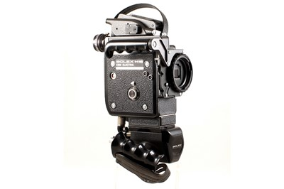 Lot 48 - Bolex H16 EBM Electric 16mm Cine Camera Body & Battery Grip.