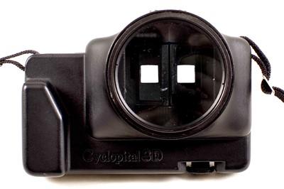 Lot 67 - Rare Cyclopital Close-up Adapter for Fuji W3 & W1 3D Cameras.
