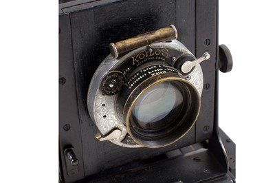 Lot 4 - A Rare Sanders & Crowhurst Shafta 5x4 'Naturalists' Camera.