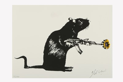 Lot 343 - BLEK LE RAT (FRENCH B. 1951)