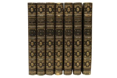Lot 1063 - The Gallery of Portraits: with Memoirs
