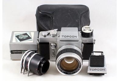 Lot 30 - Topcon RE Super with 58mm f1.4 RE Auto-Topcor Lens.