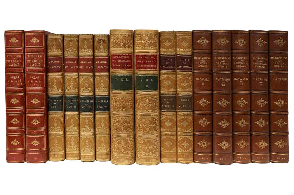 Lot 1025 - Bindings.- Biography