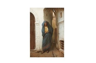 Lot 372 - JEAN RAYMOND HIPPOLYTE LAZERGES (FRENCH 1817-1887)