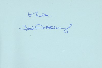 Lot 1423 - Autograph Albums.- Actors & Entertainers