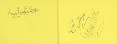 Lot 1423 - Autograph Albums.- Actors & Entertainers
