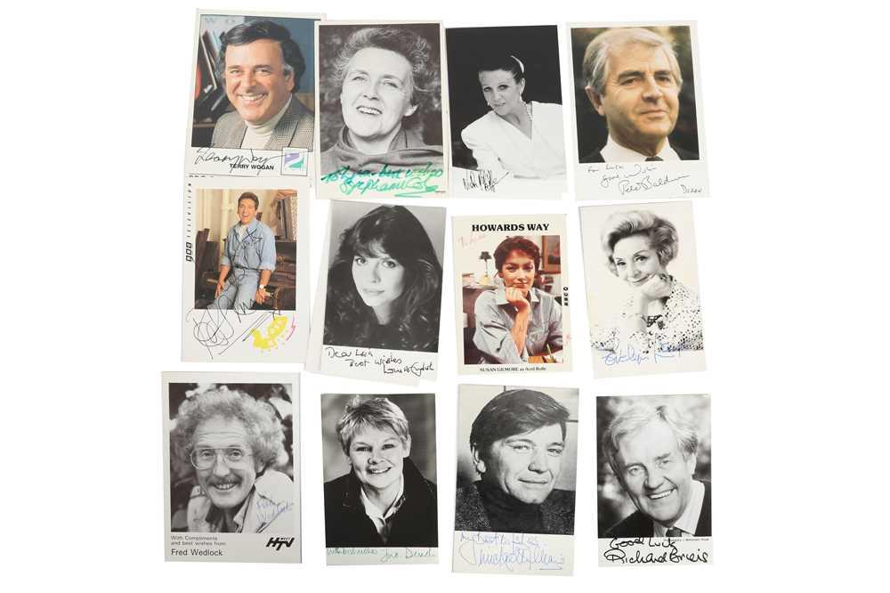 Lot 1446 - Photograph Collection.- Actors & Entertainers