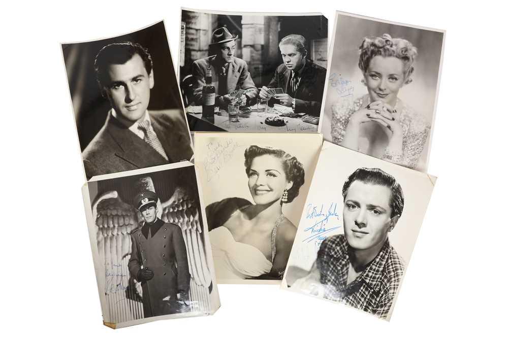Lot 1445 - Photograph Collection.- Actors & Actresses
