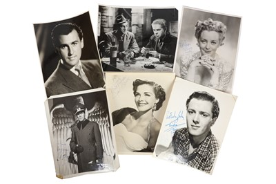 Lot 1445 - Photograph Collection.- Actors & Actresses
