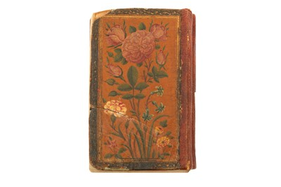 Lot 35 - A QAJAR MINIATURE QUR'AN