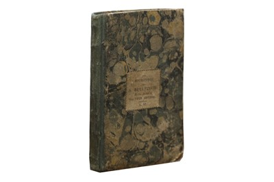 Lot 1045 - Juvenalia: [Sandham (Elizabeth)] The Adventures of A Bullfinch..... 1809