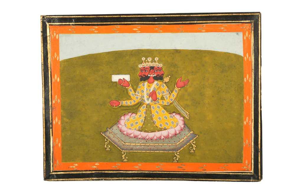 Lot 31 - THE HINDU GOD OF CREATION BRAHMA
