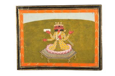 Lot 31a - THE HINDU GOD OF CREATION BRAHMA