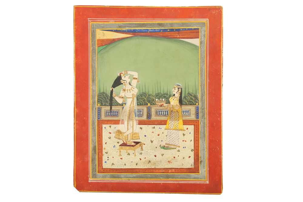Lot 365 - A LADY ATTENDING HER DAILY TOILETTE