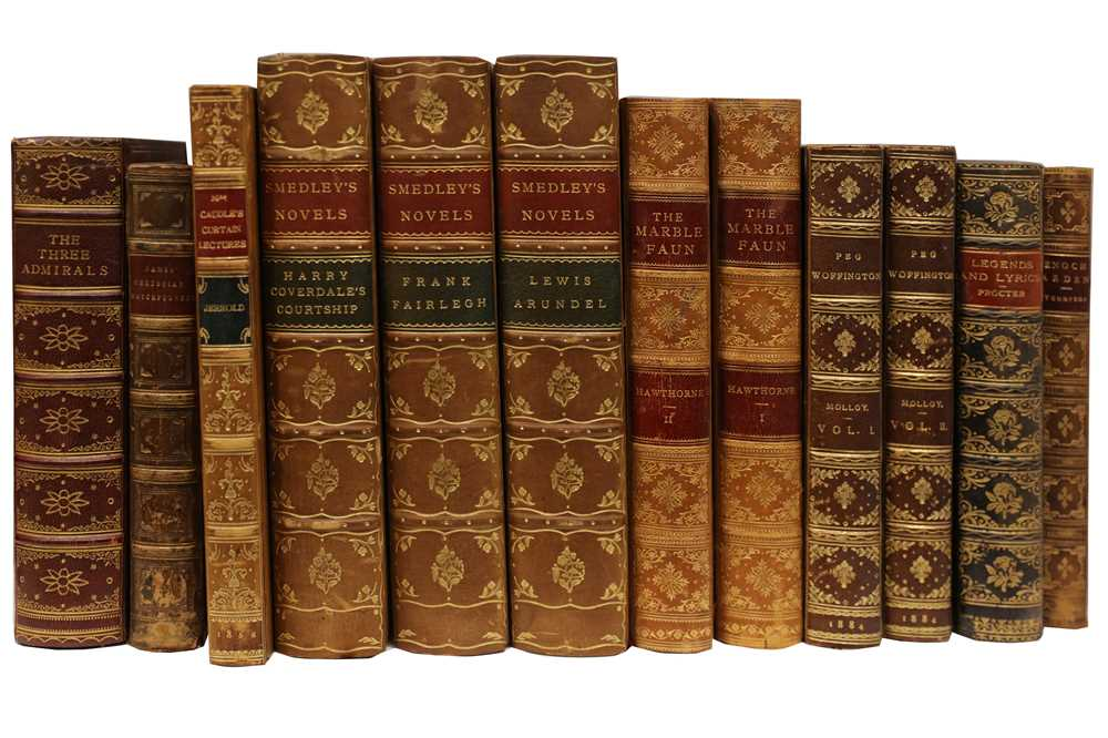 Lot 1026 - Bindings.- English Literature