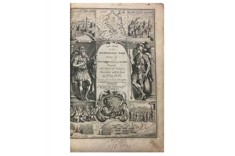 Lot 1034 - Classical History and Philosophy.