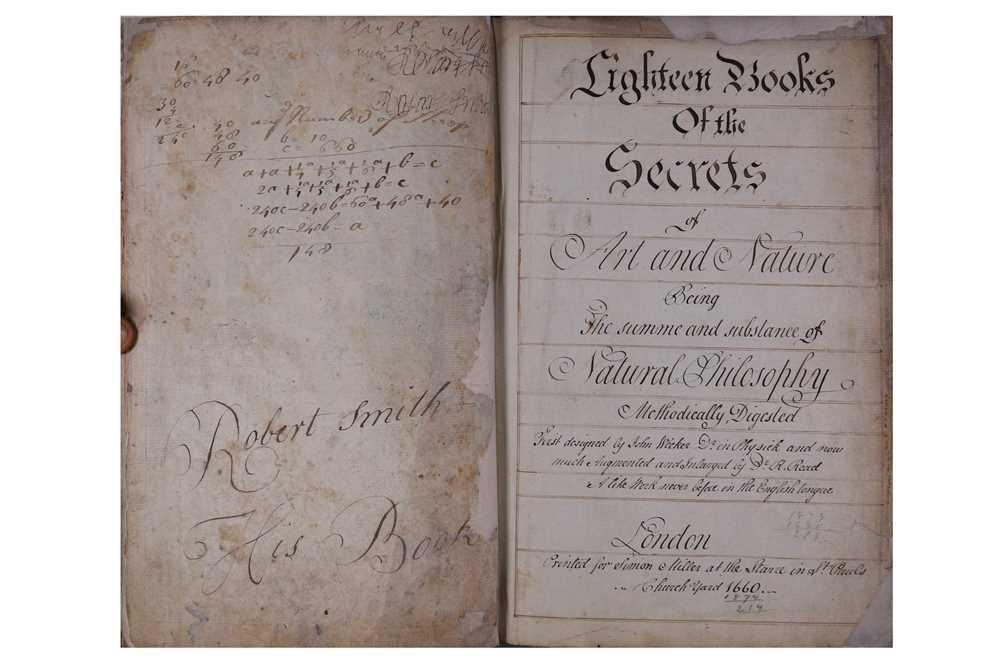 Lot 1018 - Wecker (Johann Jacob.) Eighteen Books of the...