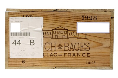 Lot 524 - Chateau Lynch-Bages 1998