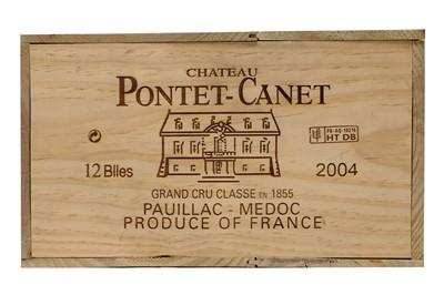 Lot 528 - Chateau Pontet-Canet 2004