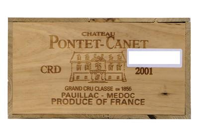 Lot 526 - Chateau Pontet-Canet 2001