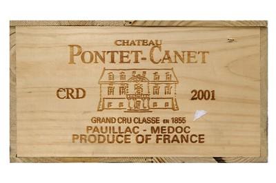 Lot 527 - Chateau Pontet-Canet 2001