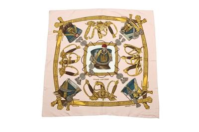 Lot 43 - Hermes 'Grand Uniforme' Silk Scarf