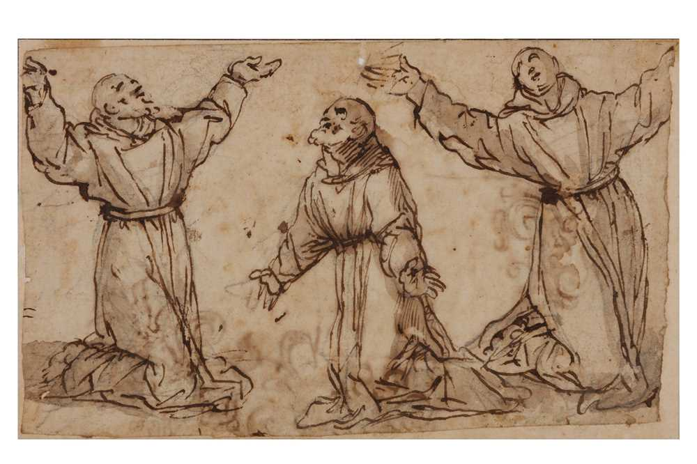 Lot 123 - ATTRIBUTED TO FRA SEMPLICE DA VERONA (VERONA 1589 - 1654)