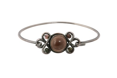 Lot 83 - Bottega Veneta Brown Cabochon Bracelet - Size S