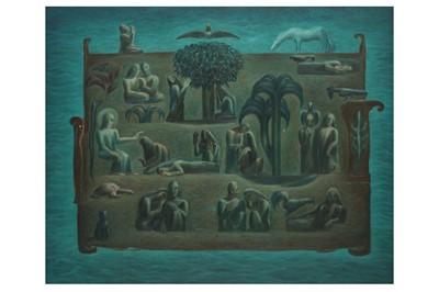 Lot 11 - SABRY MANSOUR (EGYPTIAN, B. 1943)