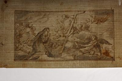 Lot 122 - CHARLES-JOSEPH NATOIRE (NIMES 1700 -  CASTEL GANDOLFO 1777)