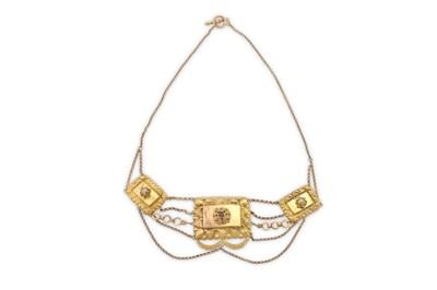 Lot 41 - A diamond-set necklace