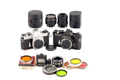 Lot 33 - Pentax Spotmatic SP F Collection.