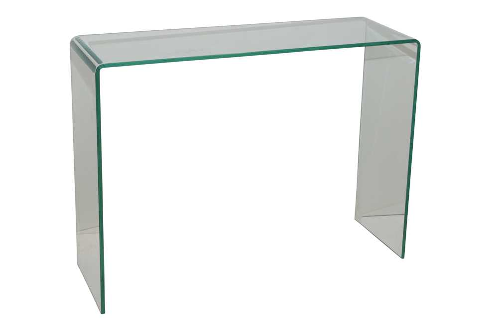 Lot 36 - A CONTEMPORARY CONSOLE TABLE