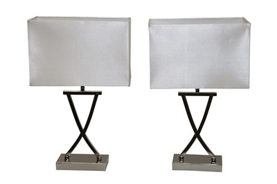 Lot 35 - A PAIR OF CONTEMPORARY TABLE LAMPS