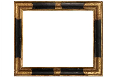 Lot 169 - A SPANISH 17TH CENTURY STYLE PAINTED AND GILDED FRAME