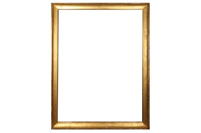 Lot 178 - A LOUIS XVI GILDED MOULDING FRAME OF LARGE PROPORTIONS