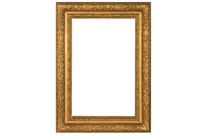 Lot 184 - AN ENGLISH 17TH CENTURY STYLE GILDED COMPOSITION LELY FRAME
