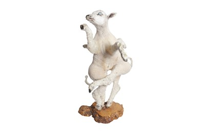 Lot 82 - A TAXIDERMY EIGHT LEGGED LAMB BY ANDRE ROBOLOBAVICH