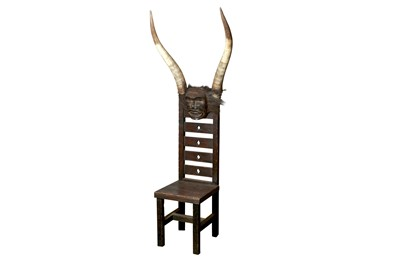 Lot 41 - THE DEVIL'S CHAIR FROM VIKTOR WYND'S MUSEUM