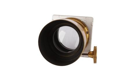 Lot 253 - A Voigtländer & Sohn Petzval Portrait Brass Lens