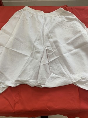 Lot 398 - EARLY PAIR OF QUEEN VICTORIA'S KNICKERS