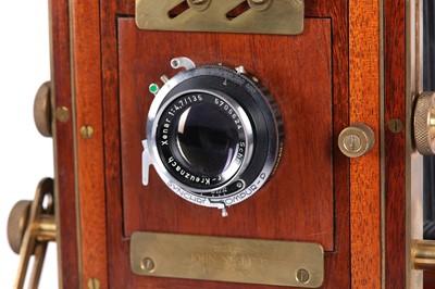 Lot 10 - A Handmade John Nesbitt Contemporary Field Camera Outfit