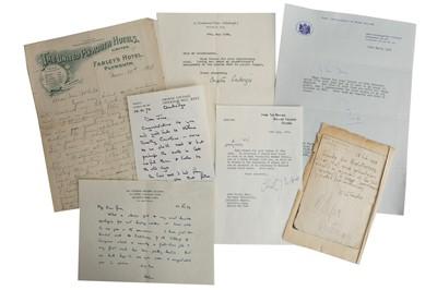 Lot 1034 - Autograph Collection.- Miscellaneous