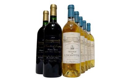 Lot 543 - Vintage Bordeaux Selection